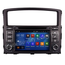 1024 600 Quad Core Android 5 1 1 Car DVD GPS Fit MITSUBISHI PAJERO V97 2006