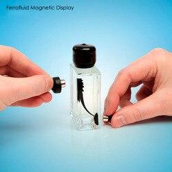 Garrafa ferrofluid magnética líquido surpreendente com 2 ímã de alívio de pressão brinquedo presente