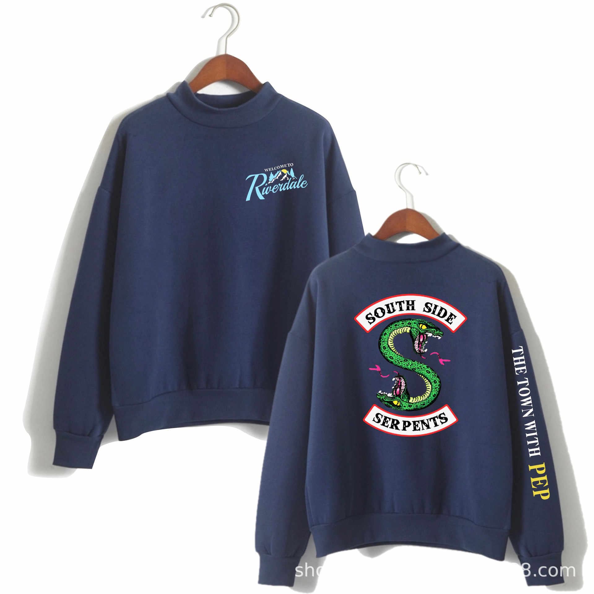 New Fashion Riverdale Sweatshirt Pullovers Tops Women Hip Hop Streetwear Female Kpop Fans Oversized Clothes South Side Hoodies