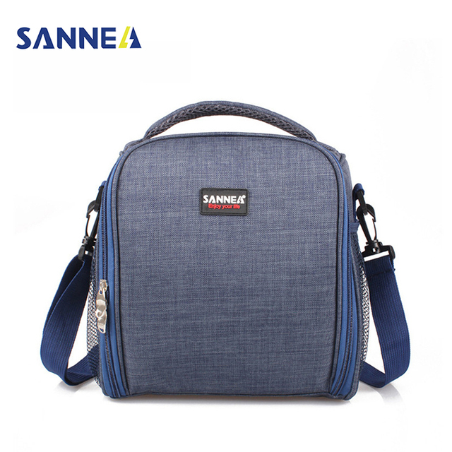 Sanne 8l Cooler Meal Prep Insulated Bags Bento Lunch Bag Thermal Lunchbox Food Picnic Tote Handbags