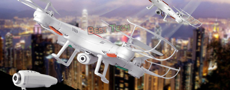 X5C-1 RC Drone with Headless Auto-return Professional Remote Control X5C Quadcopter 2.4G Drones can add 720P HD Camera  2