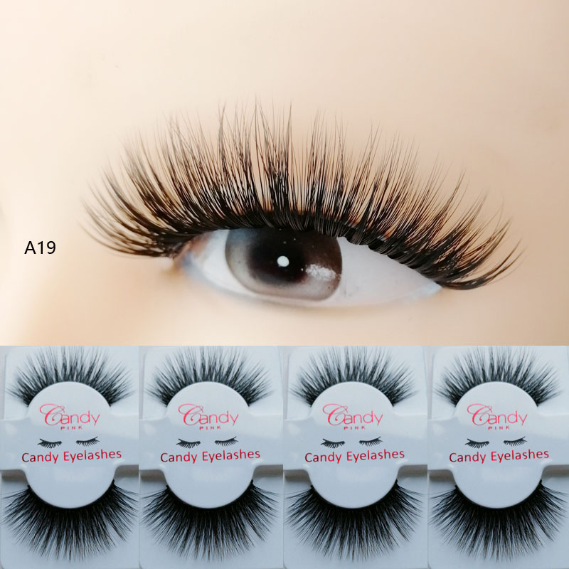 Create your own brand mink lashes private label cheap price false eyelashes Custom hot selling luxury folding private label