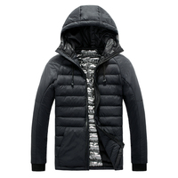Lightweight Jacket Coat Men Coat Jacket Hooded Winter Warm Cotton Jacket Men Male Parka Quilted Coat