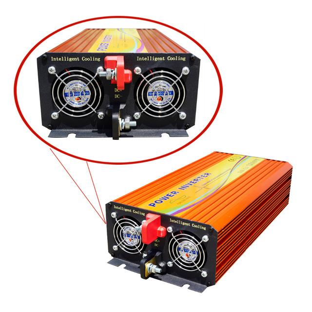 ECO-SOURCES 1500W Inverter 24V to 110V Off Grid Inverter 1.5KW Inverter for Solar Panel Solar System