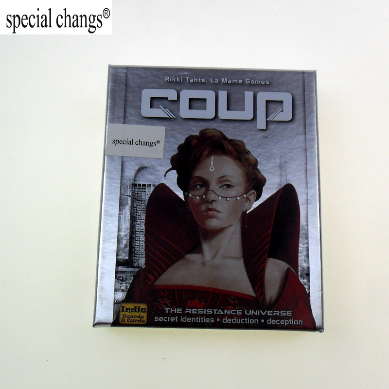 Coup Reformation,Board Game,Party Game,English And Chinese Version Free Shipping