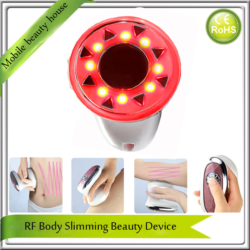 Portable rf Cavitation Body Slimming Ultrasound Body Firming Cellulite Fat Wrinkle Reduction Slimming Weight Loss Beauty Device