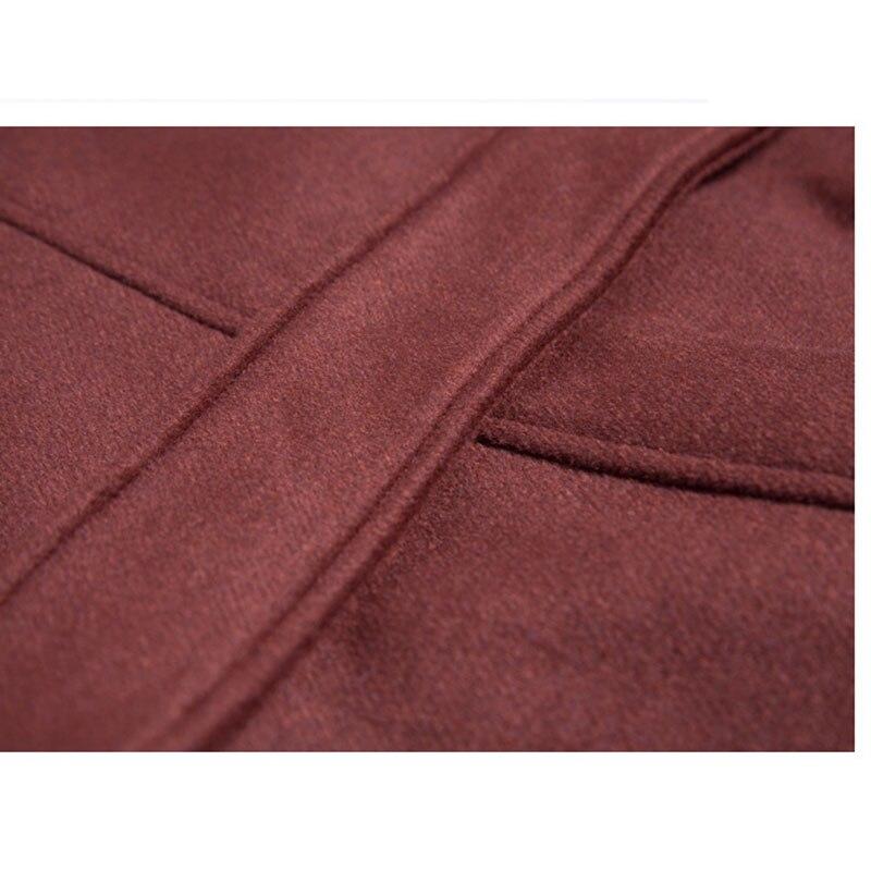 De Élégante Black Version Et Survêtement Moyen Automne Hiver 2018 Manteau Taille Mode Colour Grande La Femmes caramel Lâche Coréenne Long Laine Section HOX4qw