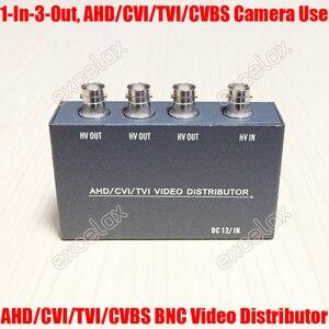 Image 5 - Mini 1 في 4 خارج 5MP 4MP 3MP 2MP AHD CVI TVI CVBS فيديو بي ان سي الموزع أمبير الخائن ل محوري التناظرية HD CCTV الأمن كاميرا