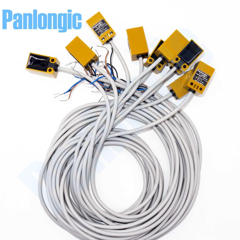 panlongic 10pcs tl q5mc1 dc 12 24v 50ma npn no inductive proximity switch sensor [ 1000 x 1000 Pixel ]
