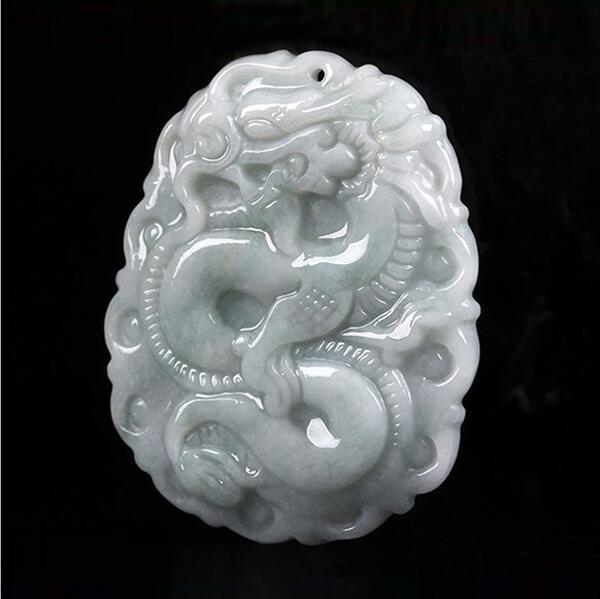 Drop Verschiffen Xinjiang Weißer Jade Sicherheit Taste Anhänger Halskette Jade Stein Pingankou Amulett Halskette Mit Kette Für Männer Frauen Flip-flops