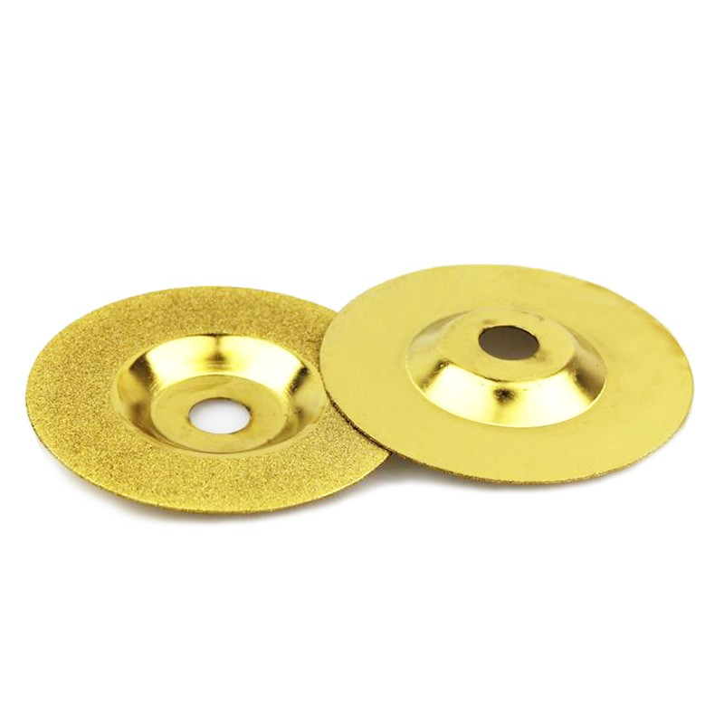 1pcs diamond wheel 100mm Power Tools abrasive diamond whetstone disc dremel diamond grinding wheels polishing for stone glas 8 inch iron ore seal carving knife grinding abrasive rock hand polishing wheel 200