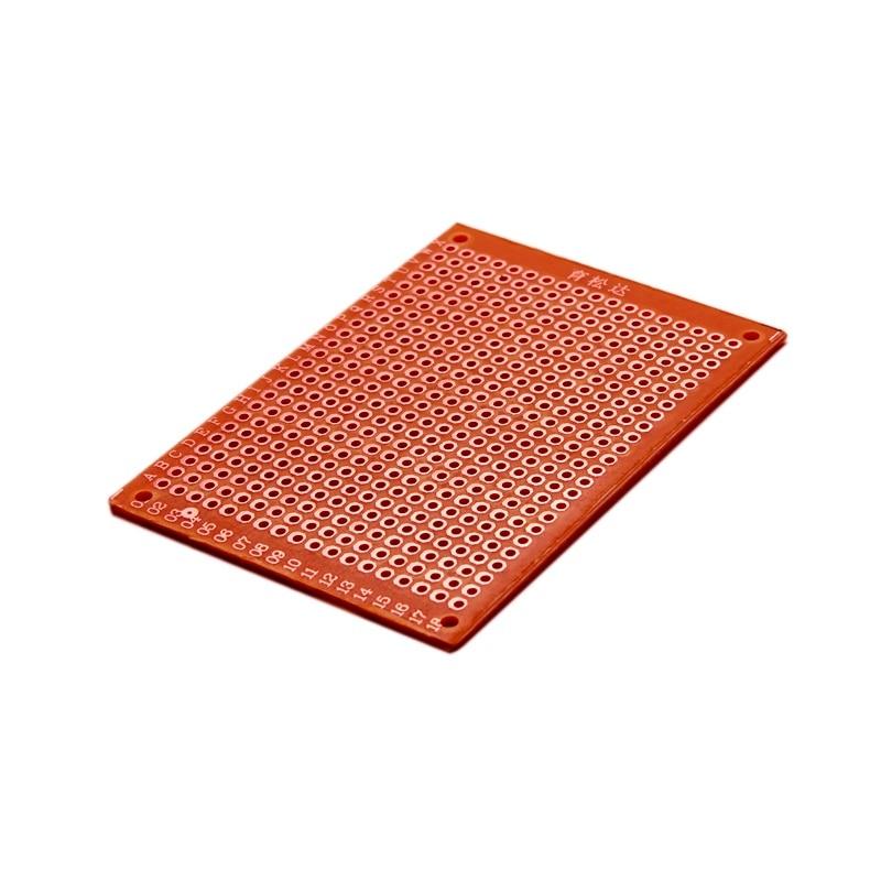 5*7 Universal Plate Breadboard Experiment Board Circuit Board PCB Tunnel Plate 5 PCS/ 1 LOT
