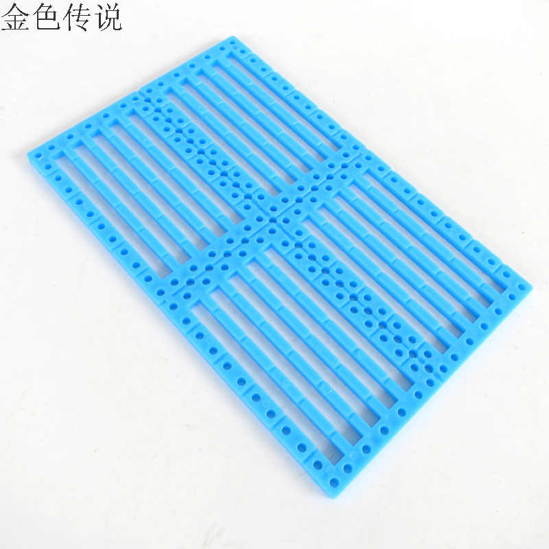 17194TW/96 JMT 7.5cm*12cm Functional Panel Chassis Diy Toy Car Shell Plate Perforated Plastic Sheet Model Building Kits