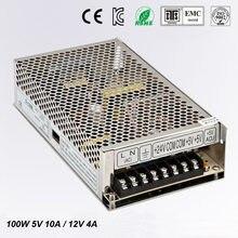 Double sortie d'alimentation, convertisseur de courant alternatif, 5 V, 10a, 12V, 4A100 W, 220 v a, 24 v, 5 vOEM/ODM