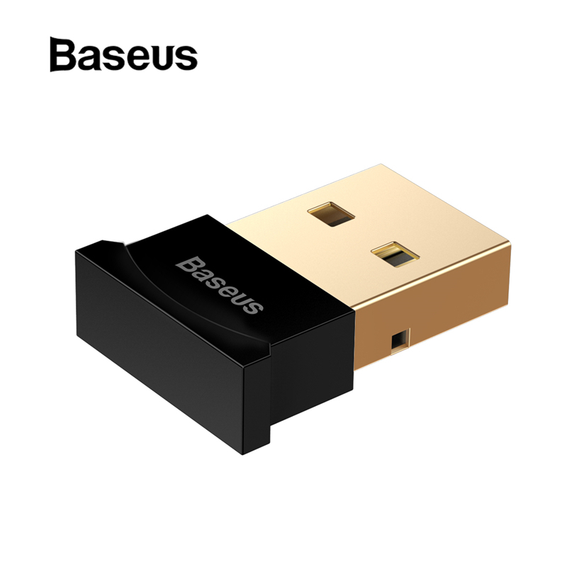 Baseus Mini USB Bluetooth Adapter Gadget Bluetooth 4.0 PC Computer Music USB Receiver Adapter for ps4 Wireless Mouse Keyboard gadget