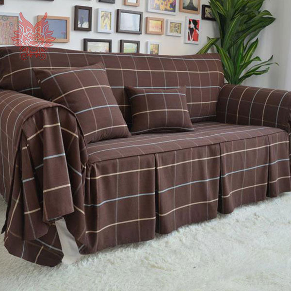 Home Textile High Quality Poly Cotton Sofa Cover Modern Style Check Slipcovers For Top Fashion Canape Sp1126 In From Garden On