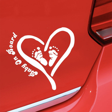 Baby on Board Cute And Interesting Car Accessories Creative Classic Vinyl Decor Decals Sticker