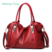 Fasion Women Handbag Capacity Leisure Soft  Leather Woman Shoulder Bag For Free Shipping