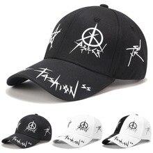 9b31fbb8cce97 2019 nueva marca Graffiti Snapback gorras de béisbol en blanco y negro de  los hombres las mujeres rapero Hip Hop gorra sombrero .
