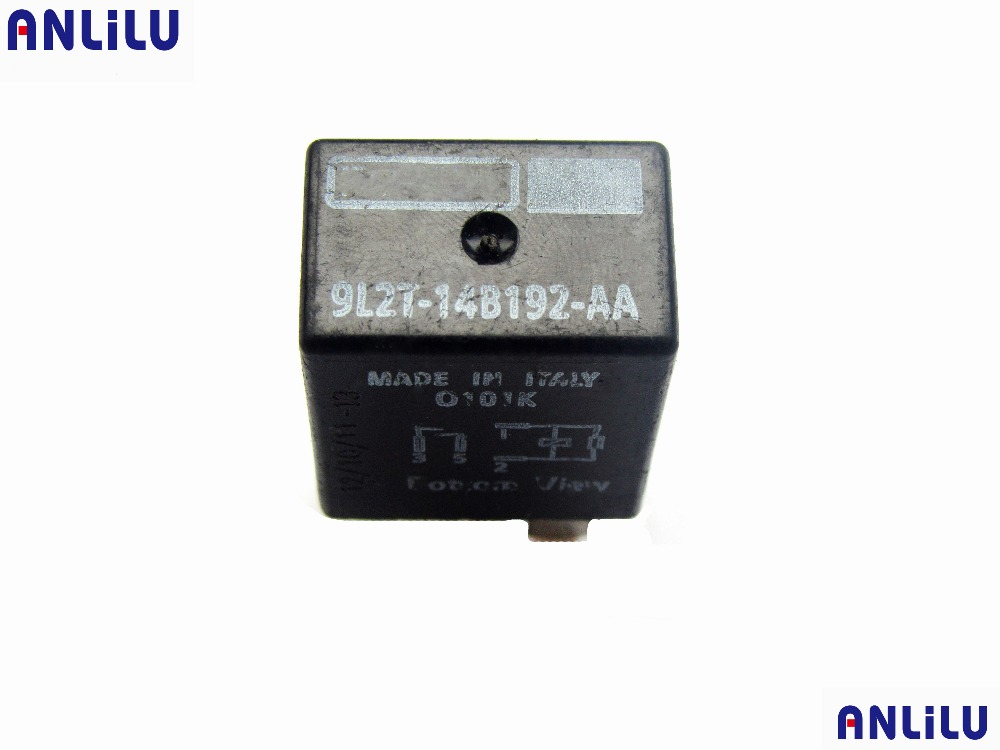 US $2.18 18% OFF|4 pin black multifunction relay for Ford Fiesta 9L2T on