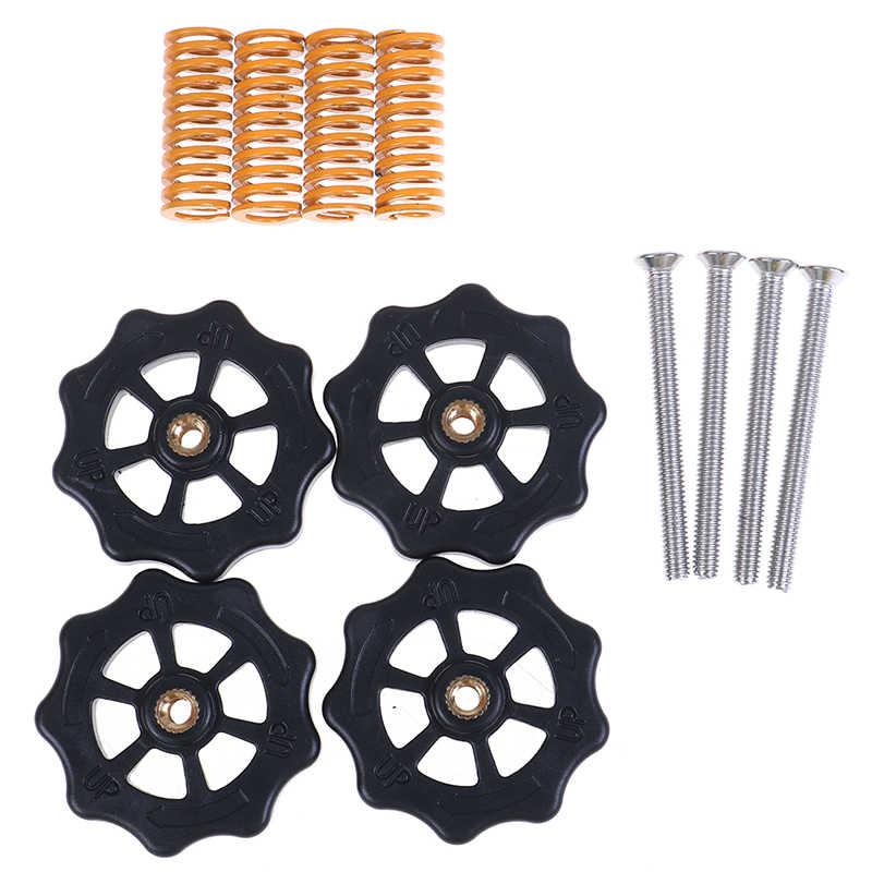 Nouvelles pièces d'imprimante 3D M4 * 40 Kit de ressort de nivellement de vis et d'écrou pour lit chauffant Cr10 Ender-3 Um2 Prusa I3 Mk2/mk3