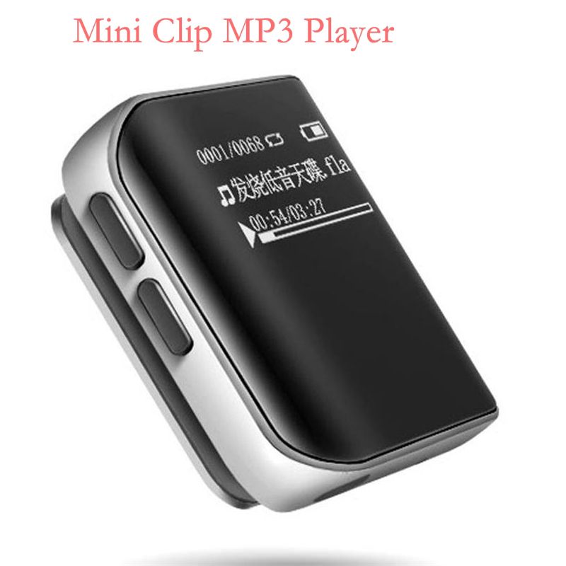Original Benjie K10 Mini Clip MP3 Player Portable 8GB Sports MP3 Music Player High Sound Quality Lossless Player With FM Radio