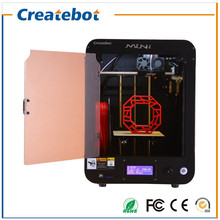 150*150*220mm MiniI FDM 3D Printing with Heatbed, LCD Screen ,Dual-extruder