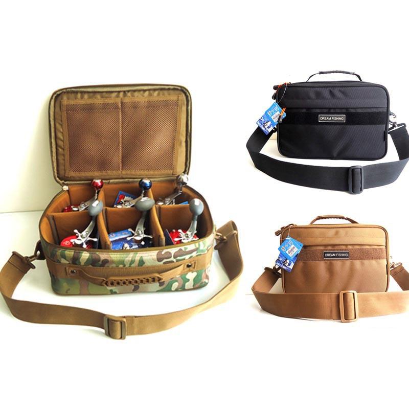 Hennoy 1 ks Multifunkční rybářský naviják Bag pasu Rybaření Pack Nylon vodotěsné rybářské balíčky