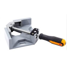 Одна Ручка 90 градусов правый угол зажим алюминиевый угол зажим деревообрабатывающий каркас зажим прямоугольный инструмент для папок