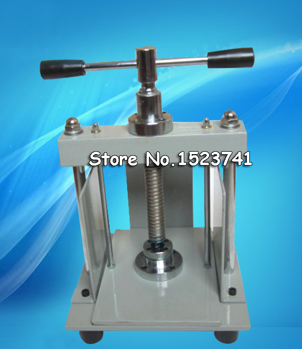 A5 size Manual flat paper press machine for photo books invoices checks booklets Nipping machine