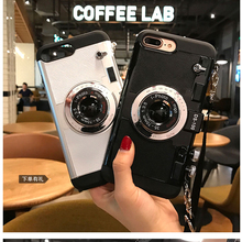 3D funny Retro Camera Phone Cases For iphone 7 6 6S Plus 5 5s 8 plus c