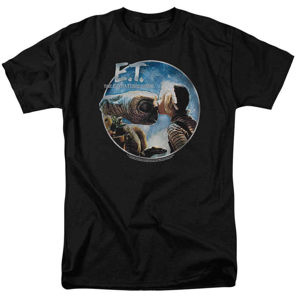 E.T. ET Extra-Terrestrial Filme GERTIE BEIJOS E.T. Licenciado T-Shirt Todos Os Tamanhos