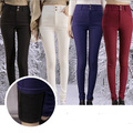 2016 Winter Warm High Waist Black Velvet Women Leggings Slim Plus Size 3XL Female Leggings Fitness Workout Punk Legins MF748562
