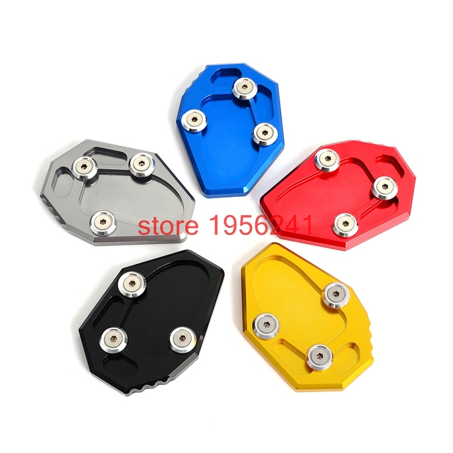 Motorcycle Kickstand Aluminum Enlarge Extension Side Stand Plate Enlarge For Yamaha MT-07 MT07 XJ6  sc 1 st  AliExpress.com & Motorcycle Kickstand Aluminum Enlarge Extension Side Stand Plate ...