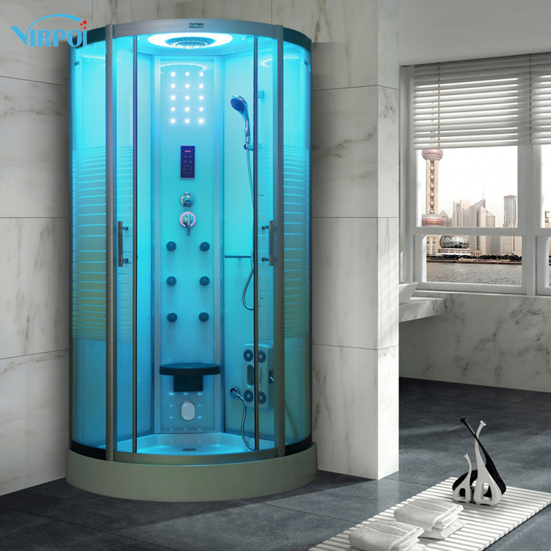 21 90cm shower cabin bath douche cabine Shower WITH Steam Cubicle ...