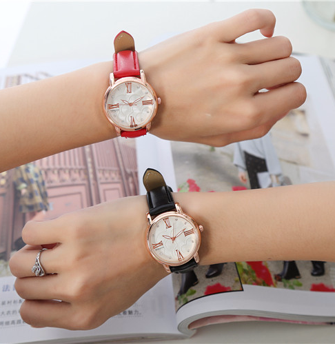 Ladies Rose Gold Wrist Watch Women 2017 Top Brand Luxury Famous Female Clock Business Quartz Watch