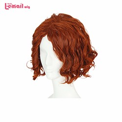 32cm-Avengers-Age-of-Ultron-Black-Widow-Dark-Brown-Cosplay-Wig-Synthetic-Hair-heat-resistant-wig