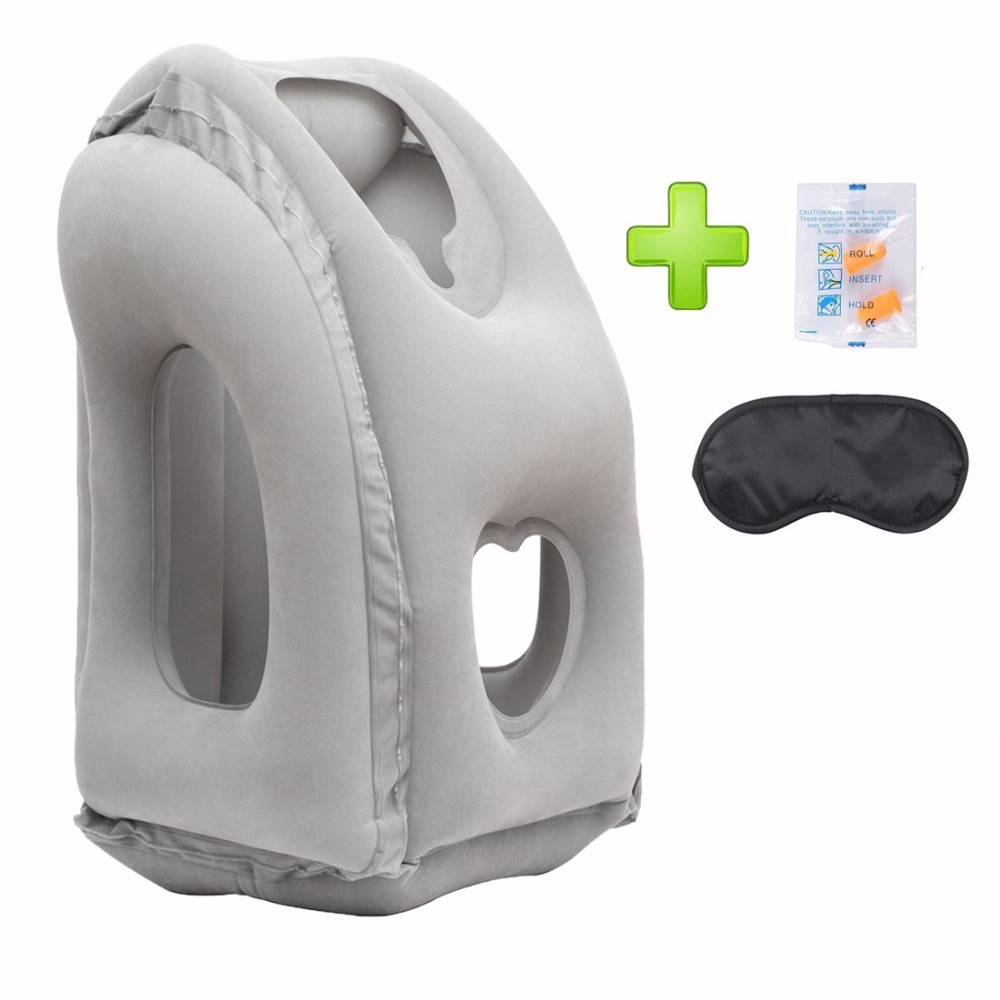T TOPVISION Travel Pillow,Comfortable U-Shape Neck Cushion,for Car Airplane Traveling,Pure Memory Foam Neck Head Support Pillow for Airplane Train Car Bus Office