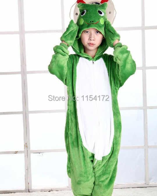 Detail Feedback Questions about Children frog carton Animal onesies Pajamas  boys girls costume Pyjamas kids cosplay pijamas children sleepwear on ... c895de635