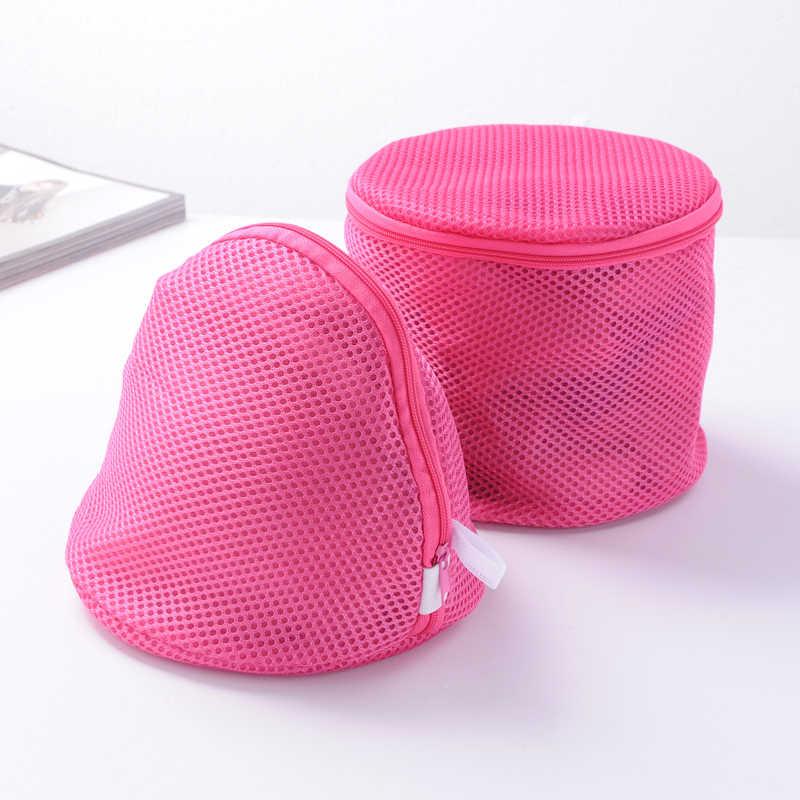 Zipper Sacos de Lavandaria Bra Lingerie Saver Proteger Saco Cestas do agregado familiar Cubo Saco de Lavagem