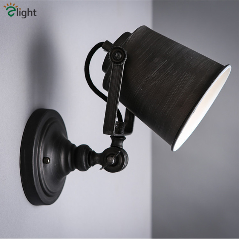 American Rotatable Metal Led Wall Lamp Lustre Marble Corridor Led Wall Lights Simple Led Wall Lighting Light Fixtures Luminaria modern lustre chrome metal led wall lights creative wifi model crystal bedroom led wall lamp corridor led lighting light fixture