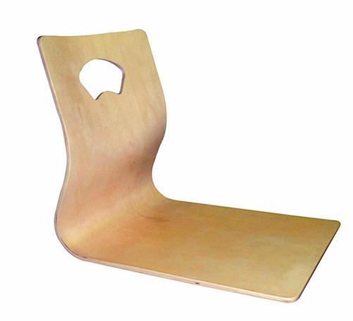 (4 pçs/lote) Tatami Cadeira Acabamento Natural Asiático Sala de estar Mobiliário Japonês Fan-shape Estilo Chão Zaisu Sem Pernas Projeto da cadeira
