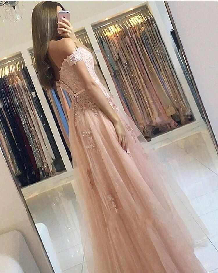 SHJ0084 кружевное розовое вечернее платье 2019 длинное элегантное платье трапециевидное платье для выпускного вечера знаменитостей с открытыми плечами Abendkleider