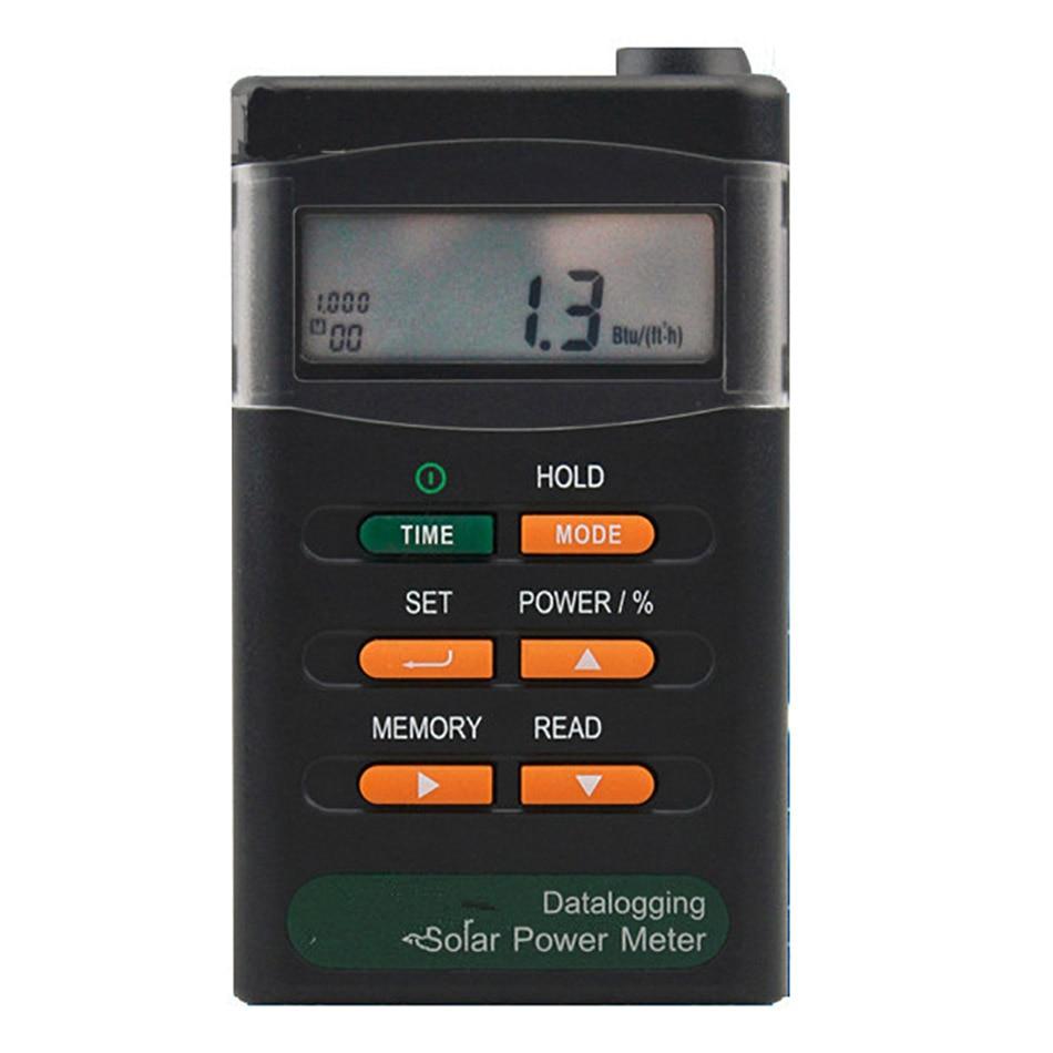 TES-1333 Solar Power Meters Solar Power Meter Solar Cell Energy Tester Digital Radiation Detector solar radiation meter solar power meter sm206 solar power meter power meter