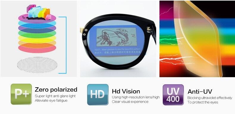 2017 de Alta Qualidade Espelho Redondo Óculos De Sol Mulheres Polarizada  UV400 Polaroid de óculos de sol Óculos de Sol Marca Designer Oculos Feminino e2cee0689f