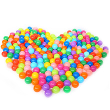 100 PCS Kids Eco-Friendly Colorful Plastic Soft Pool Ocean Ball Wave Air Balls Pits Water Pool Stressball Outdoor Sports Toys