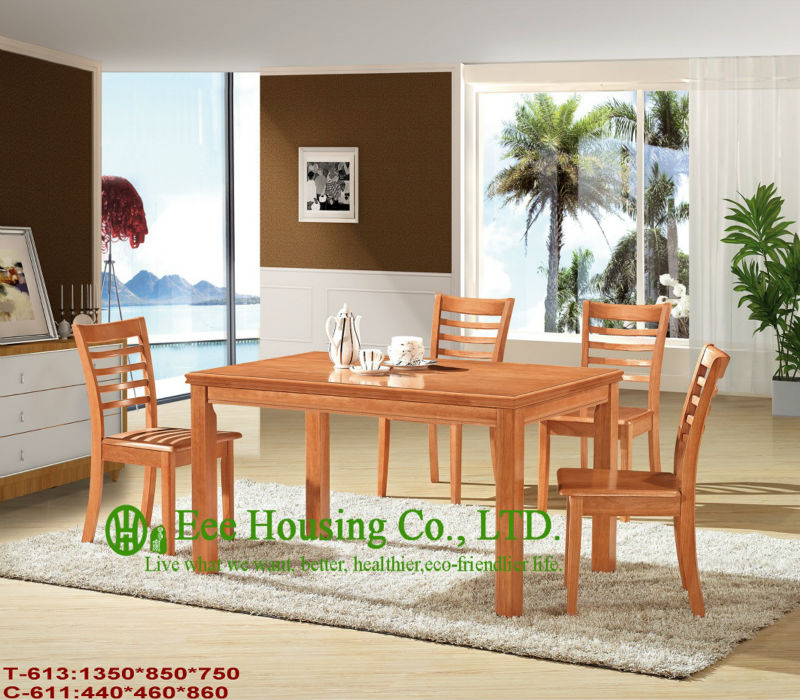 T-613,C-611   Luxurious Solid Dining Chair,Solid Wood Dinning Table Furniture With Chairs/Home Furniture