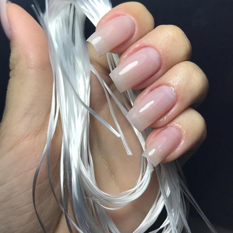 MSHARE Fiberglass Nail Extension Fiber Glass Nails Form Fibernails Builder 30pcs 2M in Nail Form from Beauty Health