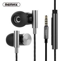 REMAX Metall HiFi Draht Kopfhörer Leistungsstarke & authentischen Klang Komfort Kopfhörer Kreis Eisen Nase Stornieren mit HD Mic für telefon/mp3