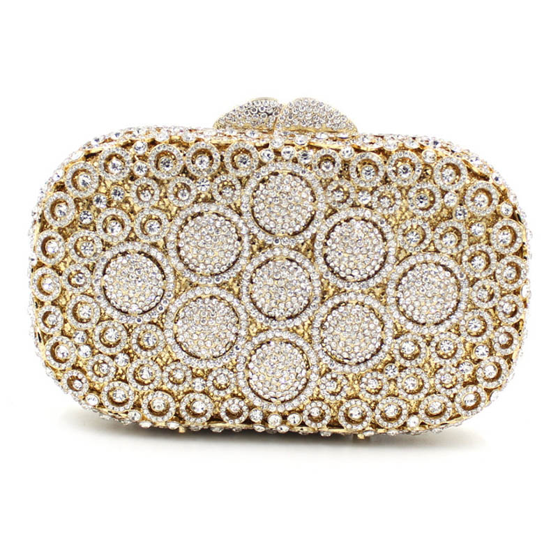 Fashion Diamond Evening Clutch Bag Rhineston Hollow out party purse Over the Shoulder Female Crystal Handbag New fashion hot new aotian glitter sequins spangle handbag party evening clutch bag wallet purse dropshipping 72 24